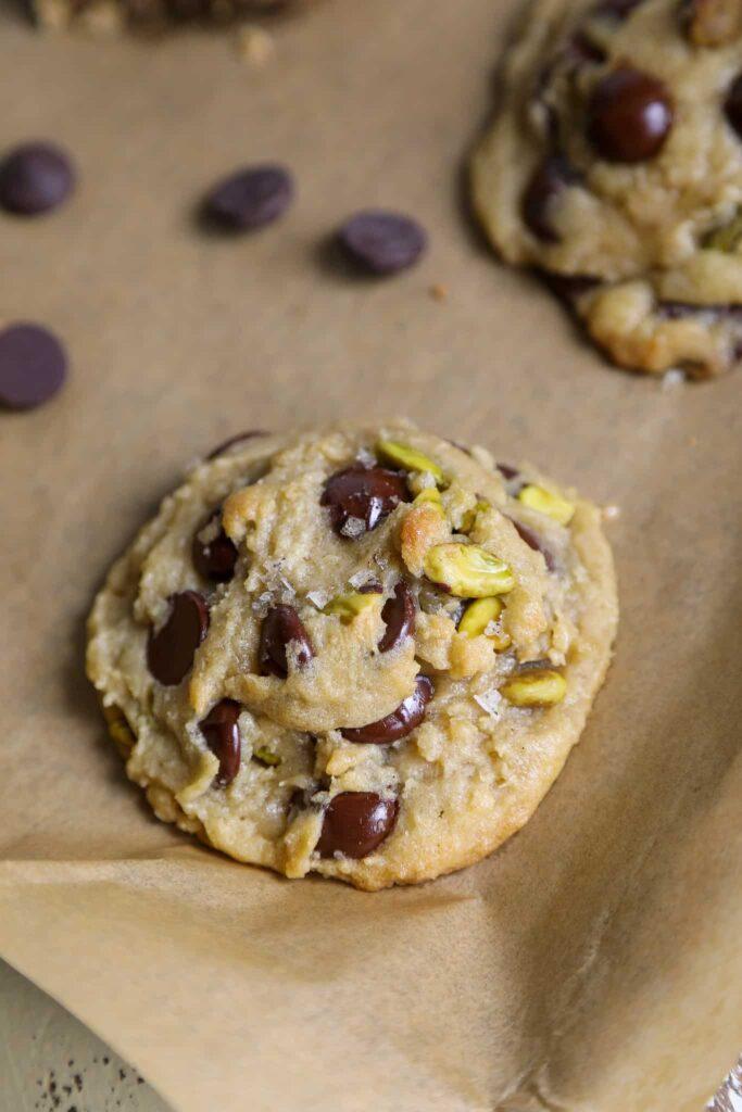 sea salt pistachio cookie
