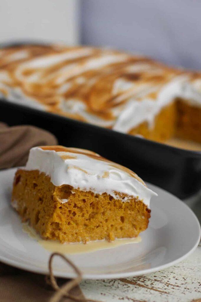 pumpkin pie tres leches