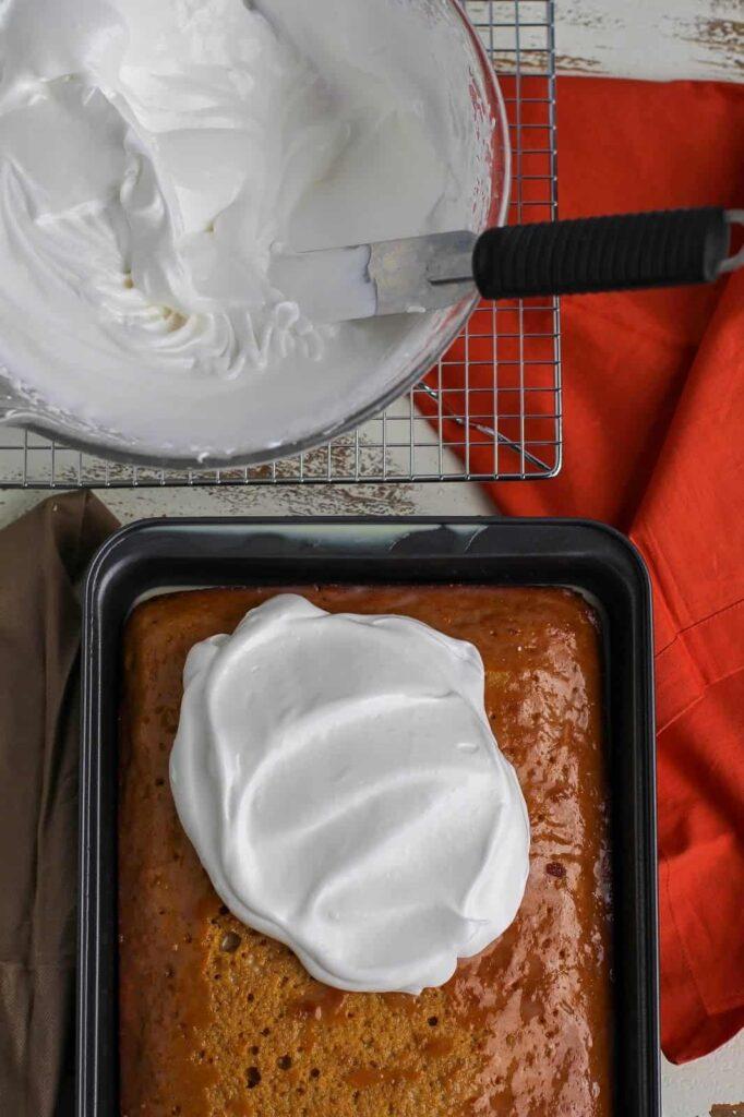 pumpkin pie tres leches cake