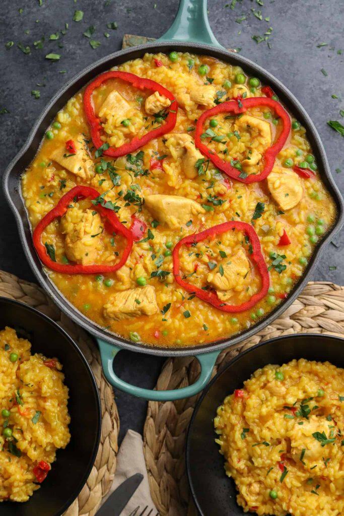 cuban arroz con pollo a la chorrera