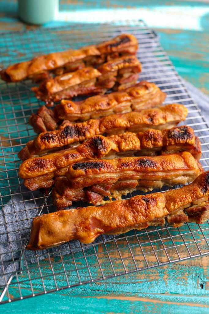 chicharrones, pork rinds