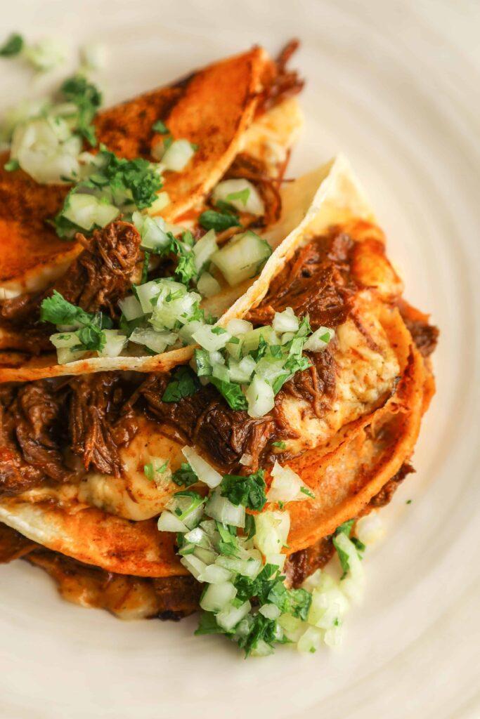 instant pot birria tacos
